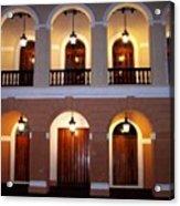 Doors Of San Juan Square Acrylic Print