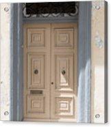 Doors Of The World 72 Acrylic Print