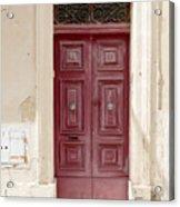 Doors Of The World 73 Acrylic Print