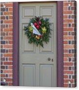 Doors Of Williamsburg 106 Acrylic Print