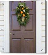 Doors Of Williamsburg 107 Acrylic Print