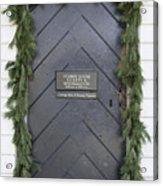 Doors Of Williamsburg 49 Acrylic Print