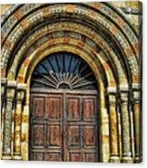 Doors To Holiness Acrylic Print