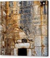 Doorway Church Of The Nativity Acrylic Print