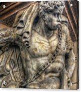 Doorway Guardian Mala Strana Acrylic Print