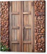 Doorway Steps Back In Time Acrylic Print