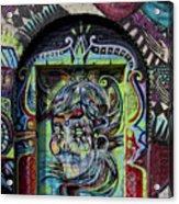 Doorway Wiiliamsburg Brooklyn Acrylic Print