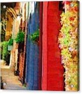 Doorways On Queen Street Acrylic Print