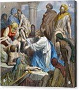 Dor�: Jesus Healing Sick Acrylic Print