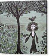 Ninas Garden Acrylic Print