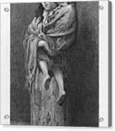 Dore: Homeless, C1869 Acrylic Print by Granger