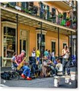 Doreen's Jazz New Orleans 2 Acrylic Print