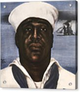 Dorie Miller - Above And Beyond - Ww2 Acrylic Print