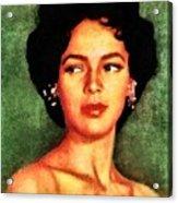 Dorothy Dandridge, Vintage Hollywood Legend Acrylic Print