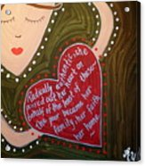 Dorothy Day Acrylic Print