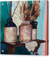 Dorothy's Pots Acrylic Print