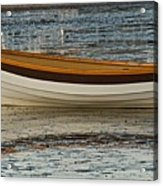Dory At Low Tide Acrylic Print