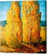 Dos Arboles De Taos Acrylic Print