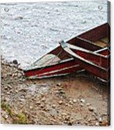 Dos Barcos Acrylic Print