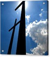 Dos Cruces Acrylic Print
