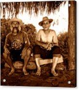 Dos Hombres Acrylic Print
