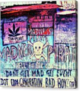Dot Com Generation Acrylic Print