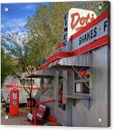 Dot's Diner In Bisbee Acrylic Print