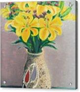Dotted Vase Acrylic Print