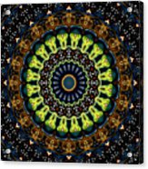 Dotted Wishes No. 3 Kaleidoscope Acrylic Print