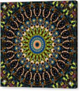 Dotted Wishes No. 4 Kaleidoscope Acrylic Print