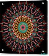 Dotted Wishes No. 4 Mandala Acrylic Print