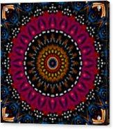 Dotted Wishes No. 5 Kaleidoscope Acrylic Print