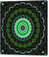 Dotted Wishes No. 6 Kaleidoscope Acrylic Print