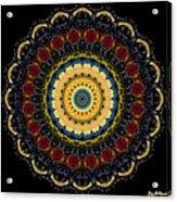 Dotted Wishes No. 6 Mandala Acrylic Print