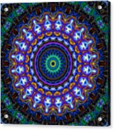 Dotted Wishes No. 7 Kaleidoscope Acrylic Print