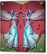 Double Angel Acrylic Print