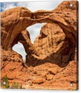 Double Arch - Arches National Park Utah Acrylic Print