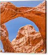 Double Arch At Arches National Park Acrylic Print