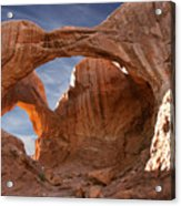 Double Arch In Late Afternoon Acrylic Print