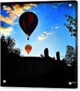 Double Balloons  Acrylic Print