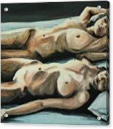 Double Bed Acrylic Print