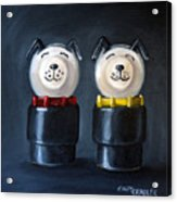 Double Dog Dare Acrylic Print