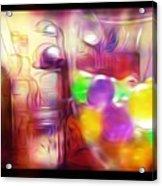 Double Kitchen Vision Acrylic Print
