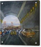 Double Landscape San Francisco Acrylic Print