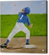 Double Play Acrylic Print