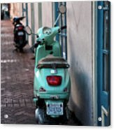 Double Scooters Acrylic Print