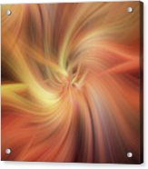 Doubled Vibrations Of Light Acrylic Print
