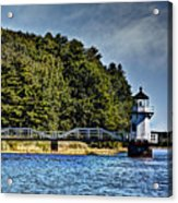 Doubling Point Lighthouse Acrylic Print
