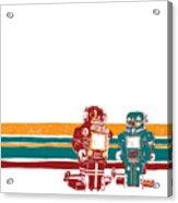 Doubotganger Robots Acrylic Print