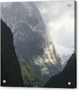 Doubtful Sound Acrylic Print by Barry Culling